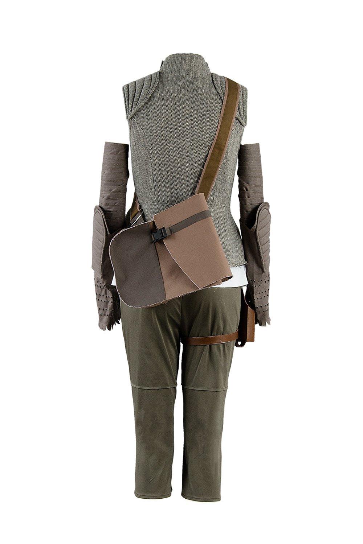 8 The Last Jedi Rey Outfit Traje de Cosplay Disfraz Mujeres M