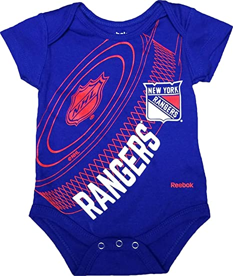 Amazon.com  New York Rangers Newborn Blue Fanatic Hockey Creeper ... 9e4538832