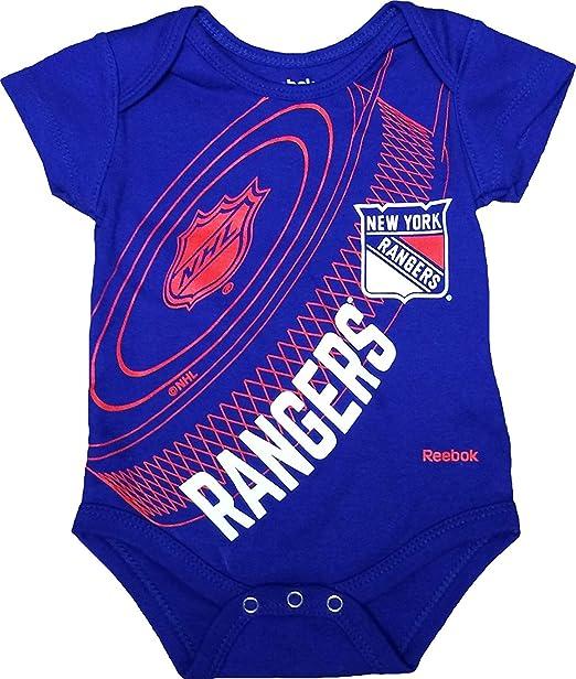 Amazon.com  New York Rangers Newborn Blue Fanatic Hockey Creeper ... 8ebdcc055