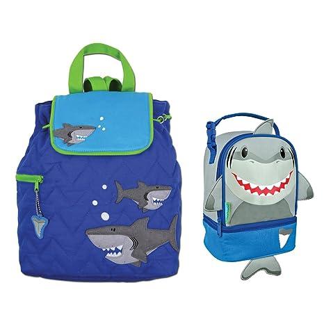 Stephen Joseph – Fiambrera, diseño de tiburón mochila y PAL Combo – Boys Mochilas