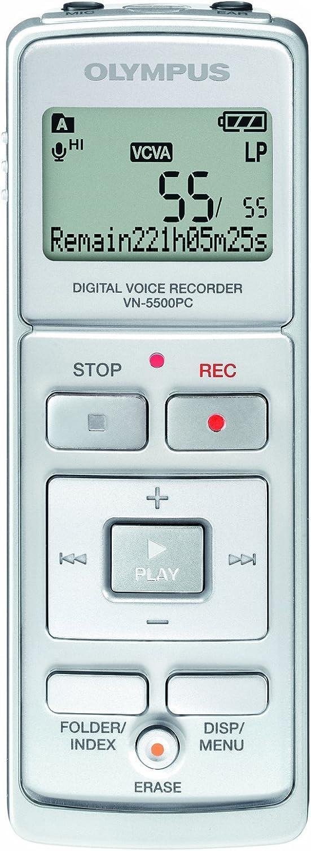Olympus Vn 5500pc Notetaker Diktiergerät Mit Spracherkennungssoftware Bürobedarf Schreibwaren