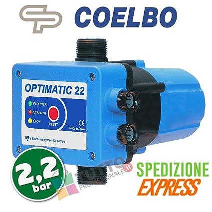 Coelbo Press Control Pressostato Elettronico Pompa Autoclave
