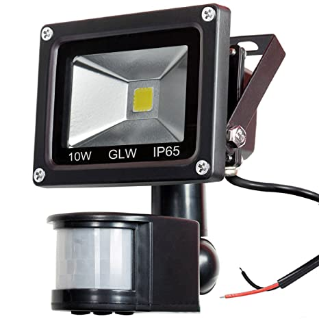 Glw 12v Ac Or Dc Led Motion Sensor Flood Light 10w Mini Ip65