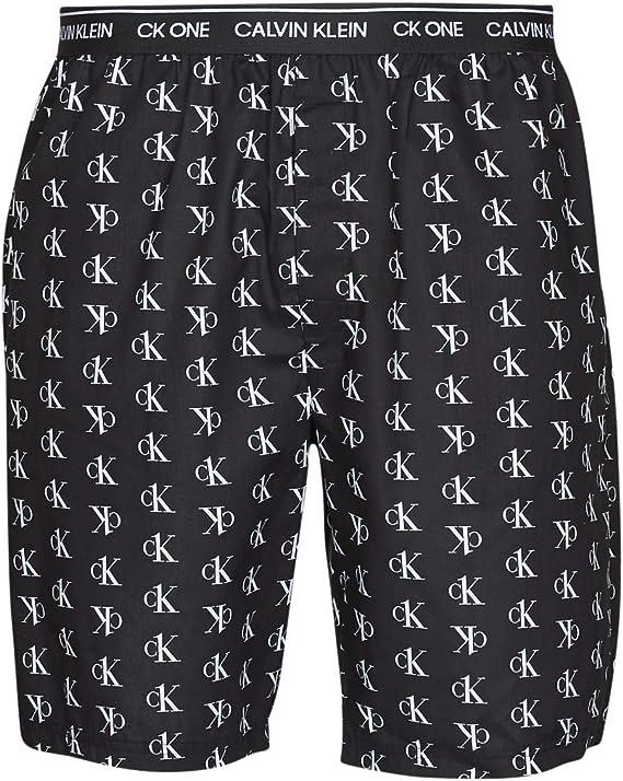Calvin Klein - Shorts de Pijama - CK One (Noir, Medium): Amazon.es: Ropa y accesorios