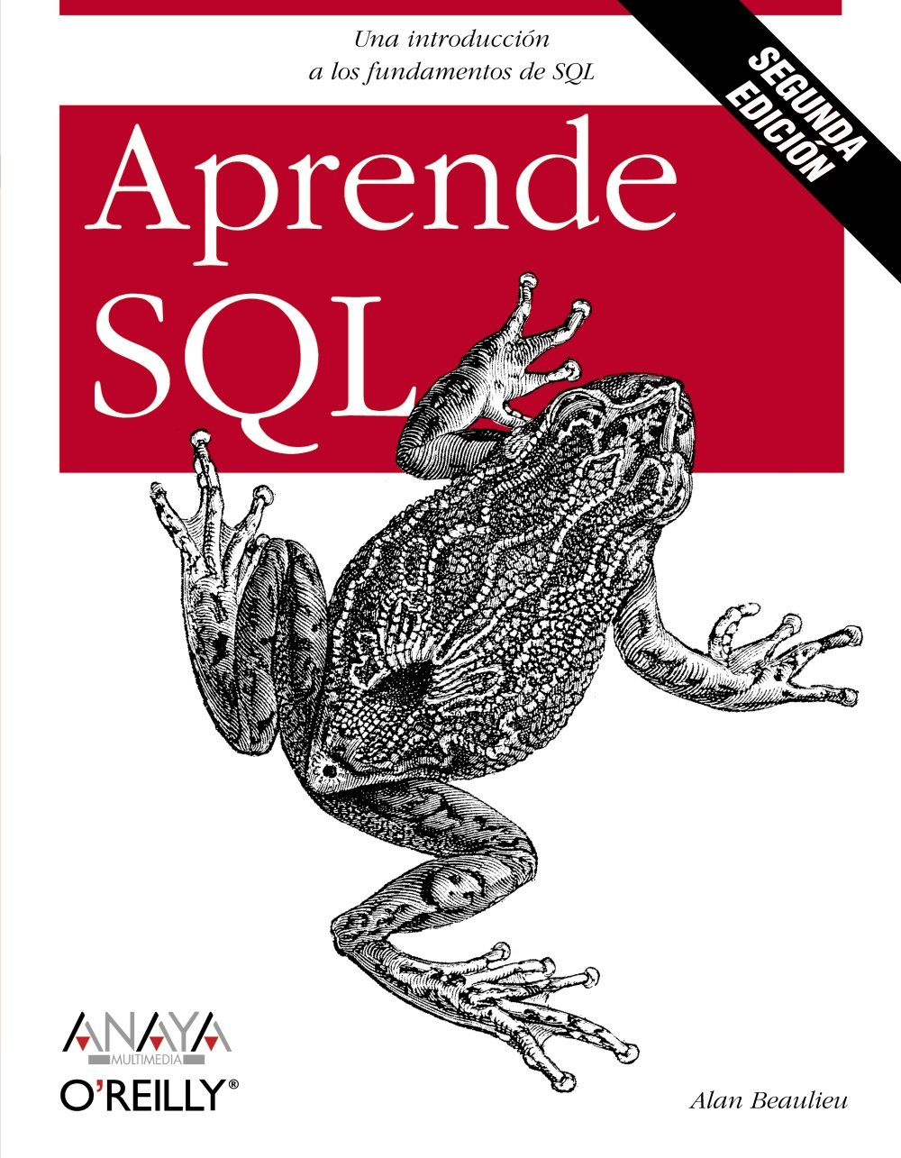 Aprende SQL. Segunda edición (Anaya Multimedia/O´Reilly) Tapa blanda – 12 oct 2009 Alan Beaulieu 8441526370 LBR9788441526372D65 Databases - General