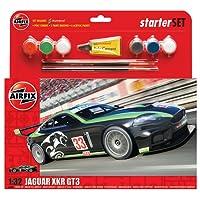 Airfix A55306 1:32 Scale Jaguar XKRGT Fantasy Scheme Starter Gift Set, Multicolor