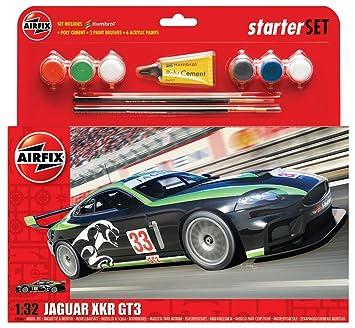 Airfix - Kit Grande con Pinturas, Coche Jaguar XKRGT3 ...