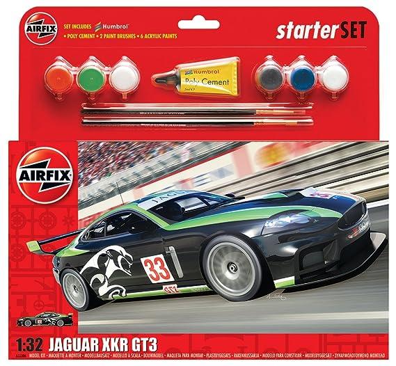 Airfix 1:32 Jaguar XKRGT Fantasy Scheme Starter Set ()