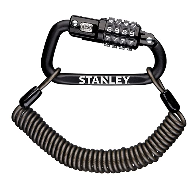 Amazon.com: STANLEY 4 Digit Carabiner Lock including 180cm ...
