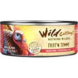 Wild Calling Canned Cat Food - Trot-N Tommy 96% Turkey - 5.5 oz - 24 ct
