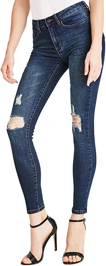 Dreamsbox Jeans Elasticizzati Donna Skinny Jeans Leggins Donna Stretti Pantaloni Push Up