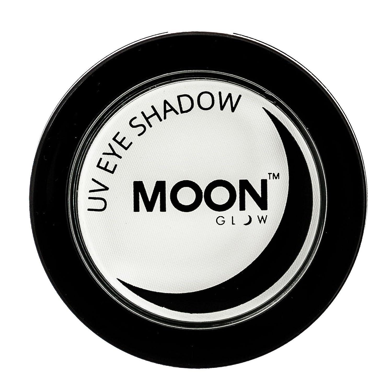 Moon Glow - Sombra de ojos UV de neón 3.5g Blanca - produce un brillo increíble bajo la iluminación/retroiluminación UV!: Amazon.es: Belleza