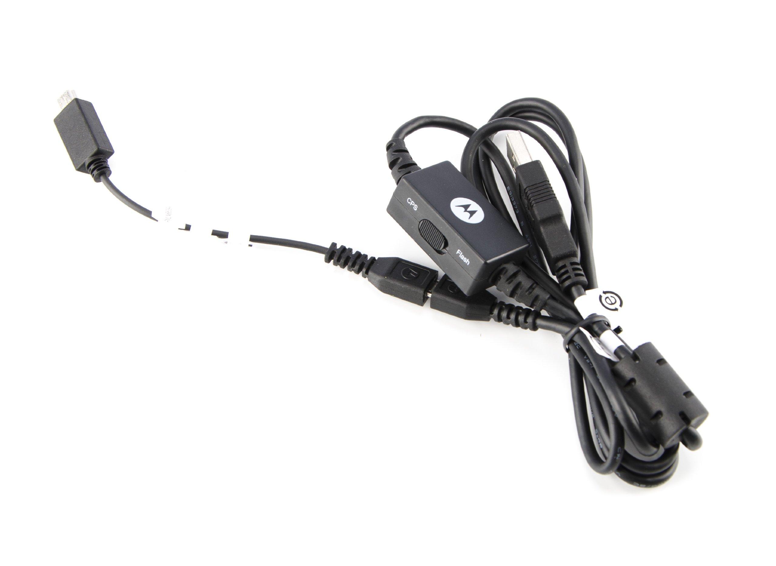 Motorola HKKN4027A RM Series CPS Programming Cable (Black)