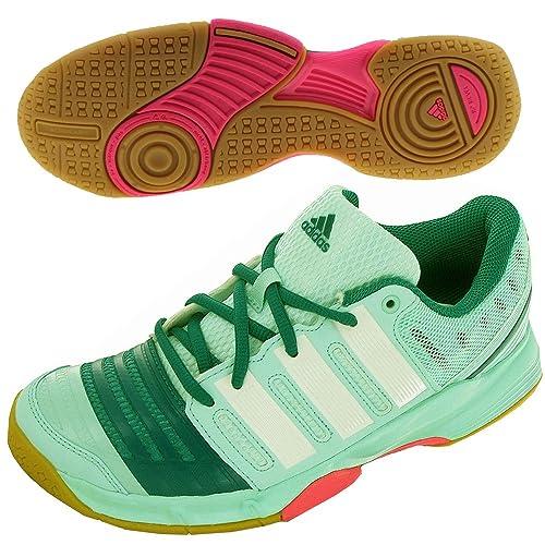 finest selection 1e62f b1ed9 adidas - Chaussures Handball Court Stabil 11 W Vert M17490  Amazon.fr   Chaussures et Sacs