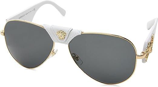 Versace Medusa Crystal Sonnenbrille in Havana für Damen   DE Online Store