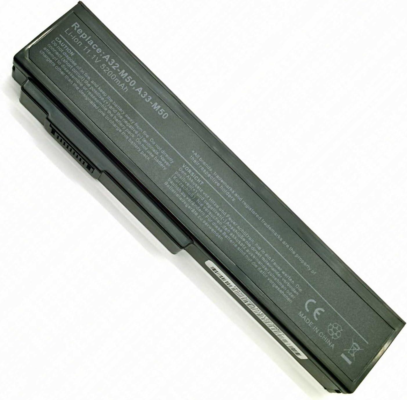 BATTERIA portatile per Asus N43 N43JQ N43Jf N43Jg N53 N53Jg N53JL A33-M50 NOTEBOOK