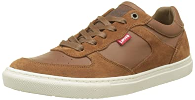 Levis Perris Oxford, Zapatillas para Hombre, Marrón (Medium Brown), ...