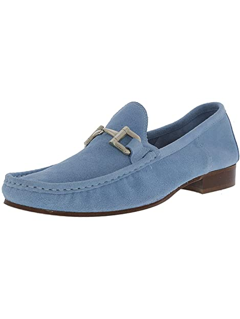Steve Madden - Gamuza Lugo Hombre, Azul (Celeste (Baby Blue)), 8 D(M) US: Steve Madden: Amazon.es: Zapatos y complementos