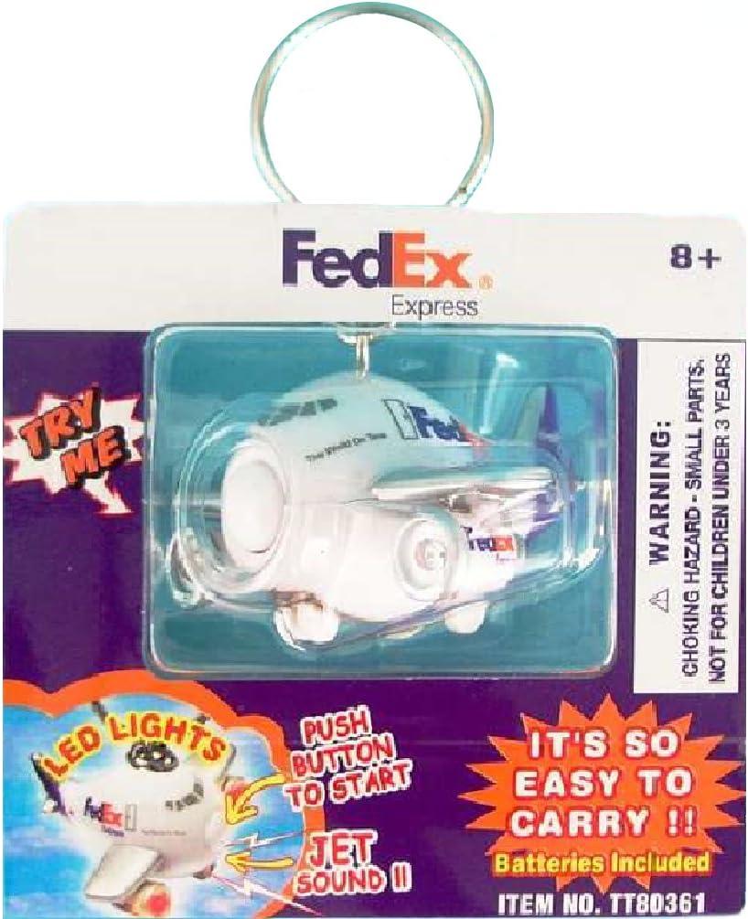 Airplane FedEx Express Key Chain  W//Sound /& Light
