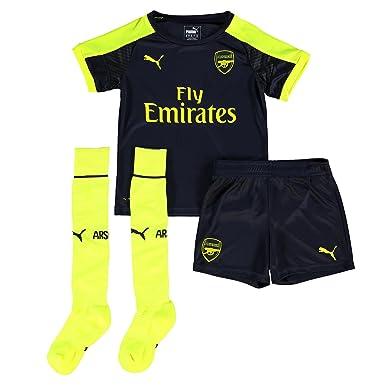 size 40 b94aa f9b8e Puma Childrens Kids Football Soccer Arsenal Third Mini Full ...