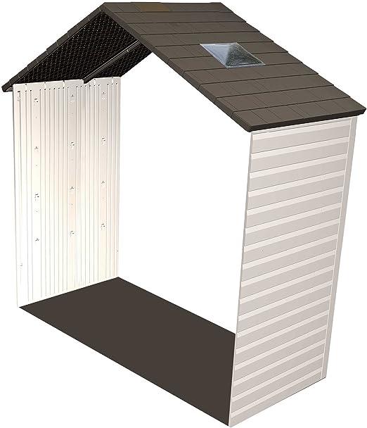 LIFETIME Casa de plástico para módulo de expansión 76 cm para Dispositivo Dispositivo Casa plástico Jardín Casa plástico Ampliación: Amazon.es: Jardín