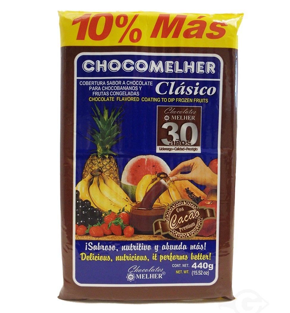 Amazon Melher Cho Elher Cholocate Flavored Coating 13 22 Oz