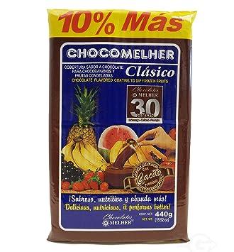 Melher Chocomelher Cholocate Flavored Coating 13.22 oz - Chocolate (Pack of 24)