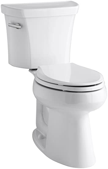 Kohler K 3889 0 Highline Comfort Height 128 Gpf Toilet 10 Inch