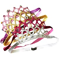 Baby Girl Super Elastic Headband Toddler Hair Band Soft Headwrap Crown Children Hair Accessories (pink/gold/sliver/rose)