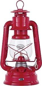 B&P Lamp Red Dietz #78 Mars Oil Burning Lantern - Hurricane Style Lantern for Camping, Picnics, Prepping or Decorating