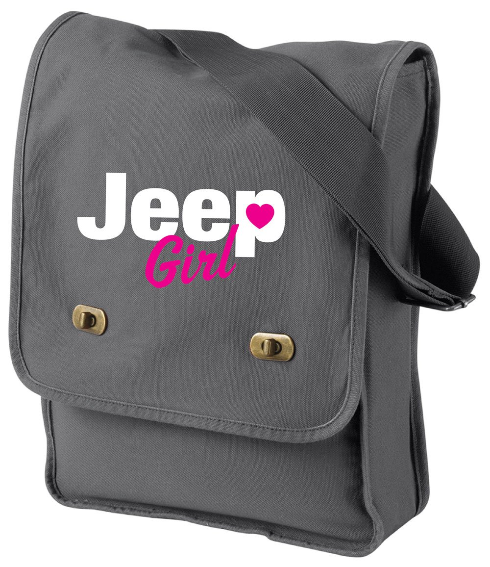 Jeep Girl Field Bag in 3 Colors (Neon Pink)