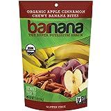 Barnana Organic Chewy Banana Bites, Apple Cinnamon, 3.5 Ounce