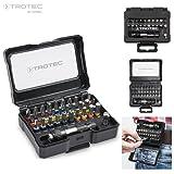 TROTEC 32-tlg. Schrauberbit-Set mit Farbcodierung und Universalhalter