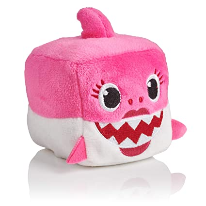 2c4e7b2cf Amazon.com: WowWee Pinkfong Baby Shark Official Song Cube - Mommy Shark:  Toys & Games