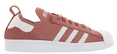 c64a55419 adidas Superstar 80s Primeknit Womens Fashion-Sneakers S76538 6.5 - Rose  Pink