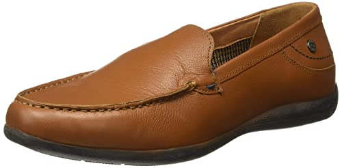 Lc1365dtan Leather Loafers