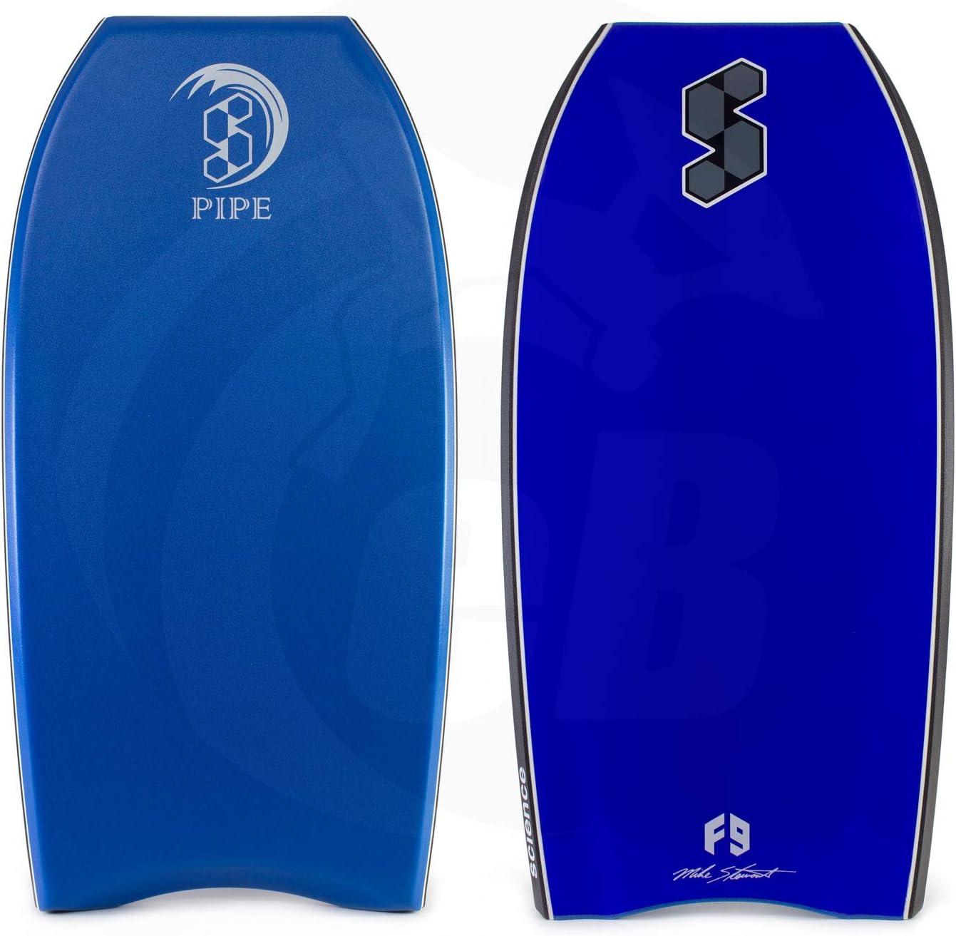 Mike Stewart Science Bodyboard Pipe Intermediate Polyethylene Crescent Tail 1 Stringer