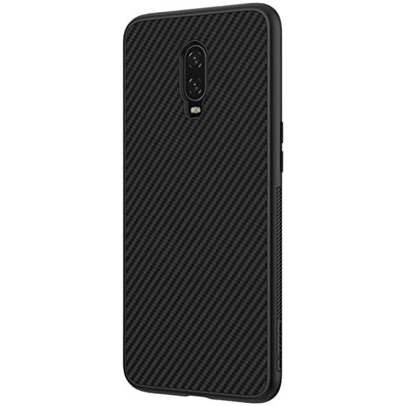 : Nillkin Oneplus 6T Case, Carbon Fiber Premium Bumper ...