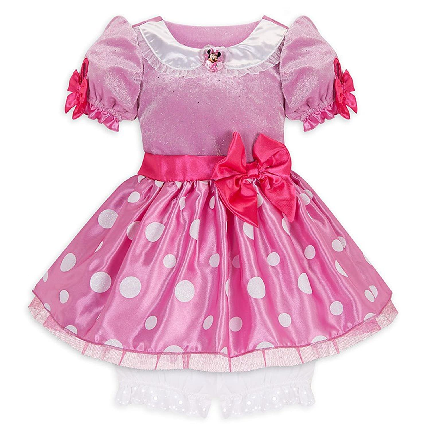 Amazon Disney Store Pink Minnie Mouse Costume Dress Size 5T for