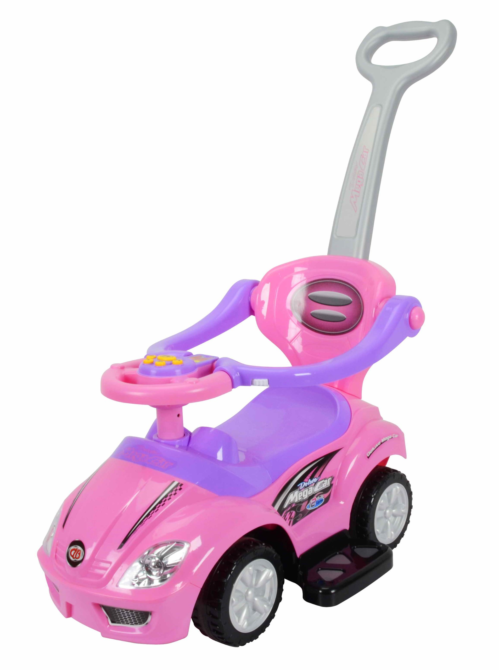 Best Ride on Cars 3 in 1 Push Car, Pink