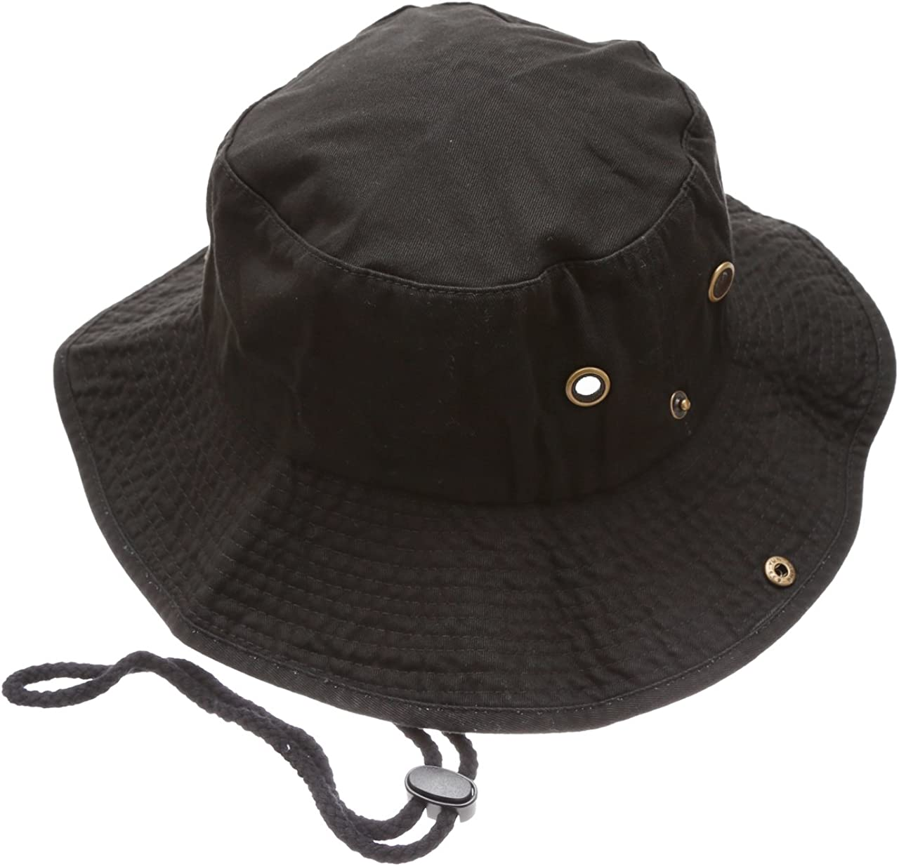 Large A-TWO Golden Tiger Stripe Unisex Fishing Hunting Bucket Boonie Hat|