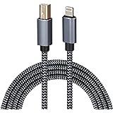 Cable Lightning a MIDI USB OTG tipo B para determinados modelos de iPhone, iPad para driver MIDI, instrumento de música elect