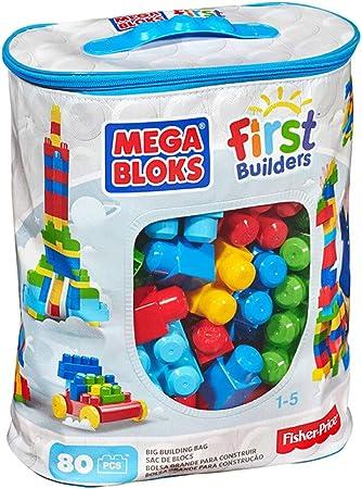 Juego de juguete de construcción grande Juego de mesa de ladrillo apilado 80 piezas Bloques grandes