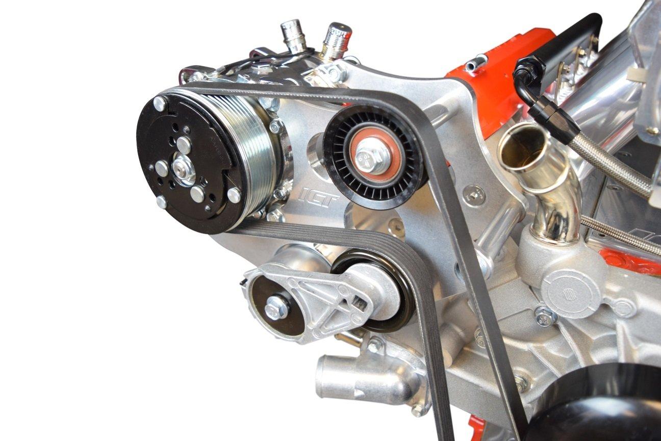 LS - Sanden 508 A/C Aire Acondicionado Compresor Kit de soporte LS1 LS3 LSX AC Heavy Duty 551474 - 3: Amazon.es: Coche y moto
