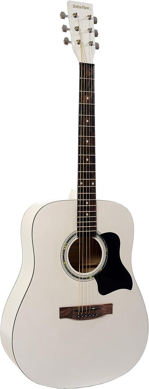 Stretton Payne Dreadnought - Guitarra acústica (tamaño completo ...