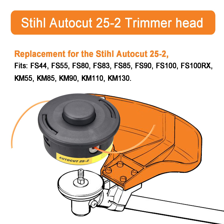 Amazon.com: WeiBonD Trimmer Head for Stihl Autocut 25-2 ...