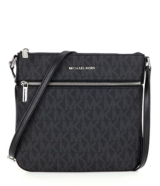 2ce164169788 MICHAEL Michael Kors Bedford Signature Flat Cross-Body Bag: Amazon.in:  Clothing & Accessories