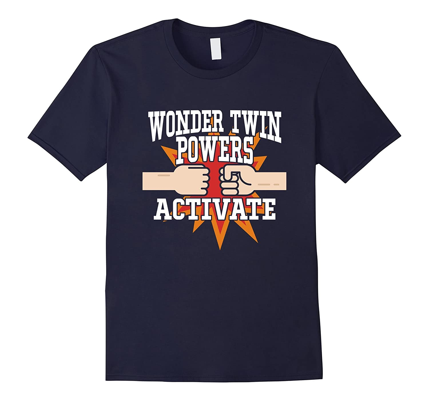 Wonder Twin Powers Activate Funny T-shirt-Art