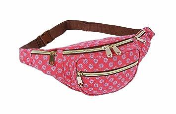 NEW Ladies Bum Bag Girls Waist Fanny Pack Bum Bag Holiday Money Belt Pouch UK