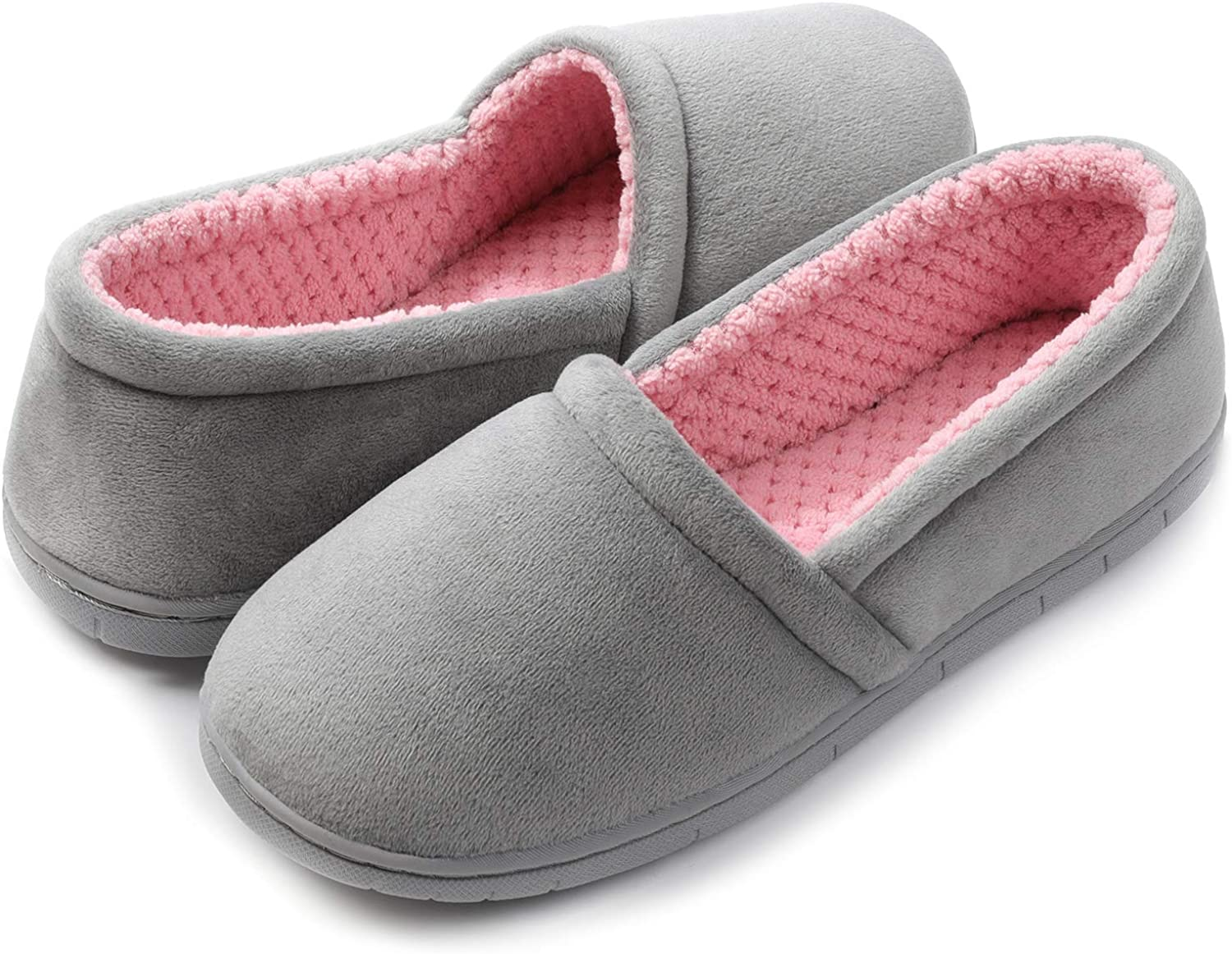 ULTRAIDEAS Women's Comfy Lightweight Slippers Non-Slip House Shoes for Indoor & Outdoor